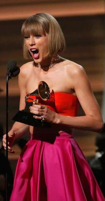 Taylor Swift bateu o rapper Kendrick Lamar - Foto: Agência Reuters