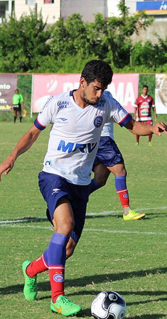 Zé Roberto foi uma das caras novas no time do jogo-treino - Foto: EC Bahia l Divulgação
