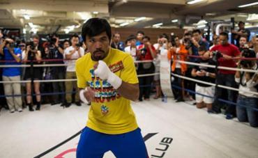 Senador pelas Filipinas, Pacquiao tem um cartel de 59 vitórias, seis derrotas e dois empates - Foto: Tyrone Siu l Reuters