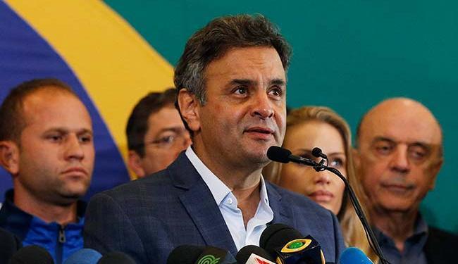Aécio avaliza a ação de oposicionistas da Câmara de tentar desgastar o ex-presidente Lula - Foto: Sergio Moraes | Agência Reuters