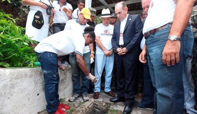 Ministro da Saúde esteve em Salvador neste sábado - Foto: Amanda Oliveira   GOVBA