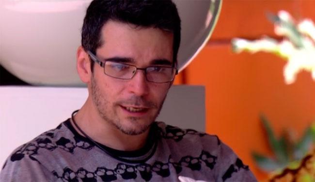 Durante a semana, em conversa com Geralda, o brother já tinha dado indícios de que queria sair - Foto: Reprodução   Globo