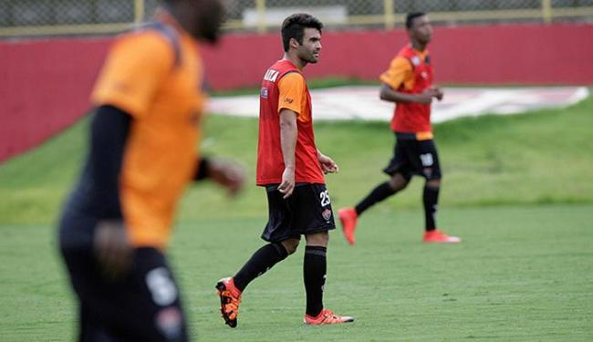 Arthur Maia ainda não voltou a treinar com o grupo - Foto: Adilton Venegeroles l Ag. A TARDE
