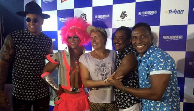 Léo Santana e É o Tchan vão puxar o bloco durante o Carnaval - Foto: Fábio Sande | Divulgação