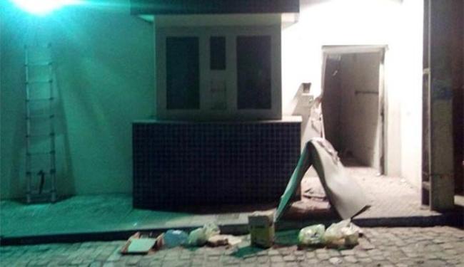 Policial preso negou qualquer envolvimento com o bando que roubou banco - Foto: Reprodução l augustourgente.com.br
