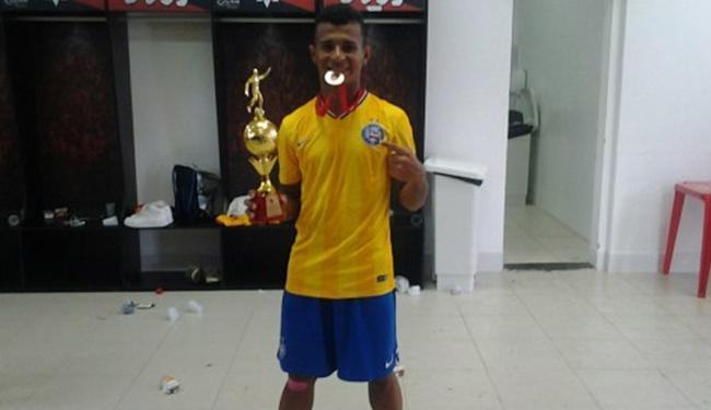 Atacante foi destaque na Copa São Paulo deste ano - Foto: Reprodução l EC Bahia