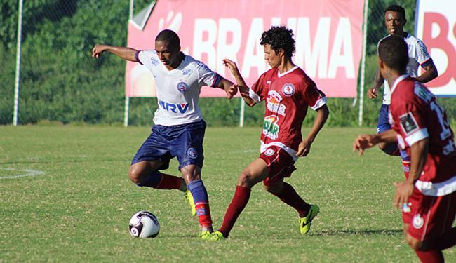 Jogo-treino serviu para o técnico Doriva fazer observações - Foto: Divulgação l EC Bahia