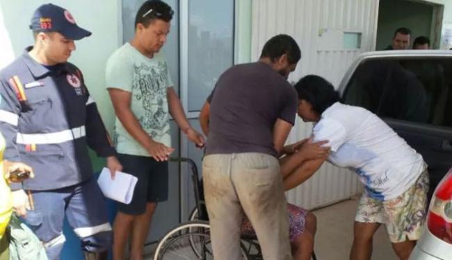 A mãe da criança, que está grávida de sete meses, passou mal após saber da notícia - Foto: Edivaldo Braga l Blog do Braga