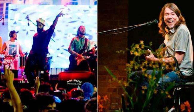 Baiana System se apresente no próximo domingo, 21, e Lenine, no dia 28 - Foto: Sidney Rocharte | Divulgação