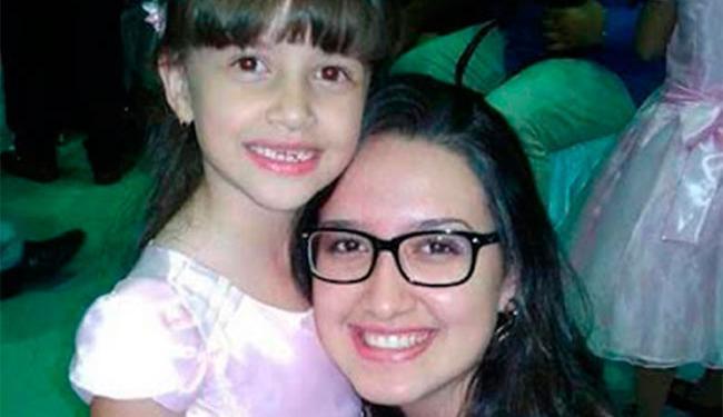 A menina Beatriz Angélica Mota estava com a mãe quando desapareceu - Foto: Reprodução
