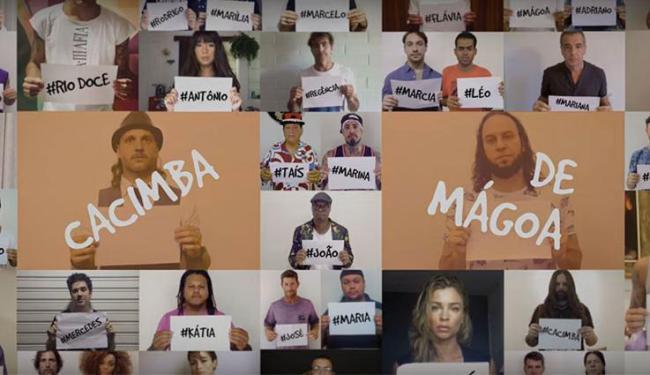 Clipe de Cacimba de Mágoa é uma homenagem às famílias das vítimas da tragédia - Foto: Reprodução   Youtube