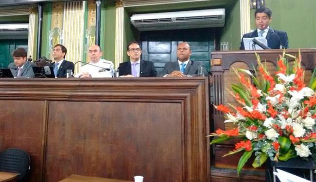 ACM Neto discursou durante abertura de trabalhos na Câmara - Foto: Edilson Lima | Ag. A TARDE