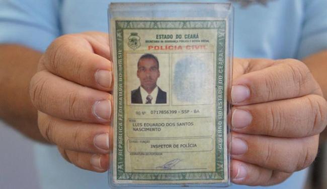 Luís é inspetor da Polícia Civil do Ceará - Foto: Ascom | PC