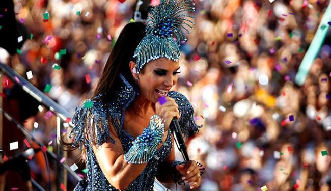 Ivete Sangalo comanda a festa dos foliões no Campo Grande - Foto: Raul Spinassé | Ag. A TARDE