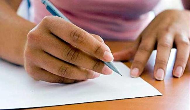 Cada escola pode inscrever no máximo duas redações - Foto: Reprodução