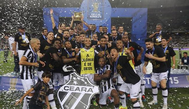 Ceará conquistou o título da competição em 2015 - Foto: Fabio Lima l O Povo