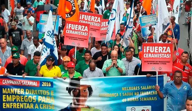 Manifestação faz parte da campanha salarial - Foto: Divulgação | Sintepav