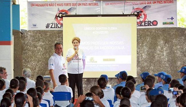 Cerca de 400 alunos assistiram à aula da presidente - Foto: Mateus Pereira l (Gov-BA)