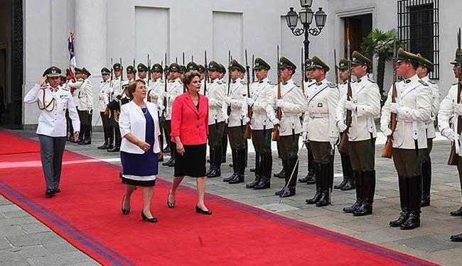 Presidente está em visita oficial ao Chile - Foto: Reprodução   Facebook
