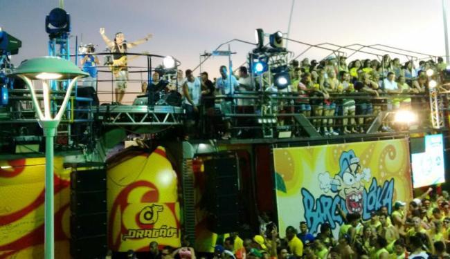 Durval agitando o Cocobambu - Foto: Paula Pitta | Ag. A TARDE | 06.02.2016
