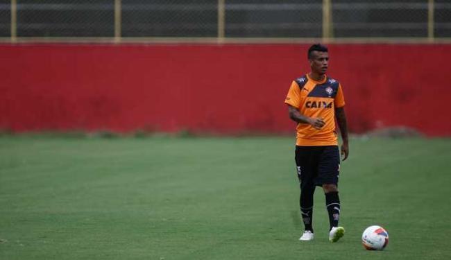 Vander tem mostrado empenho nos treinos na Toca do Leão - Foto: Joá Souza | Ag. A TARDE