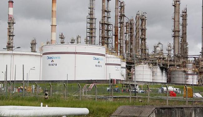 Braskem diz que está investigando a possibilidade de corrupção na petroquímica - Foto: Joá Souza l Ag. A TARDE l 17.07.20