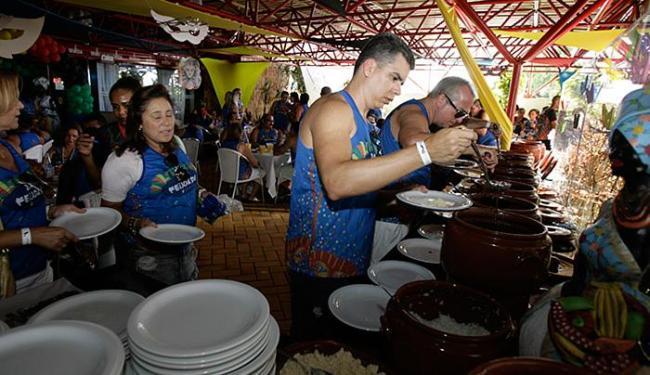 Evento ofereceu bufê da iguaria e outros petiscos - Foto: Joá Souza | Ag. A TARDE