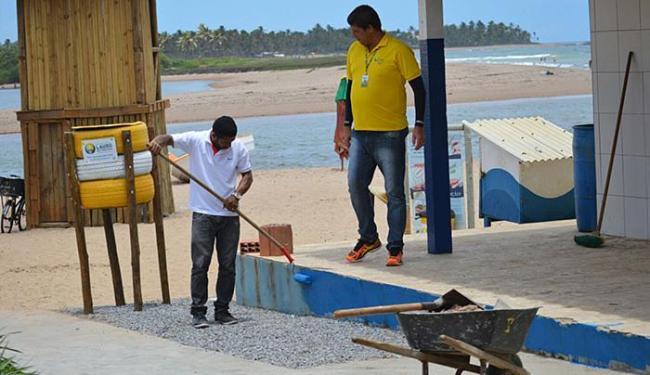 Os preparativos são finalizados para a festa desta terça - Foto: Divulgação l Ascom-PLF