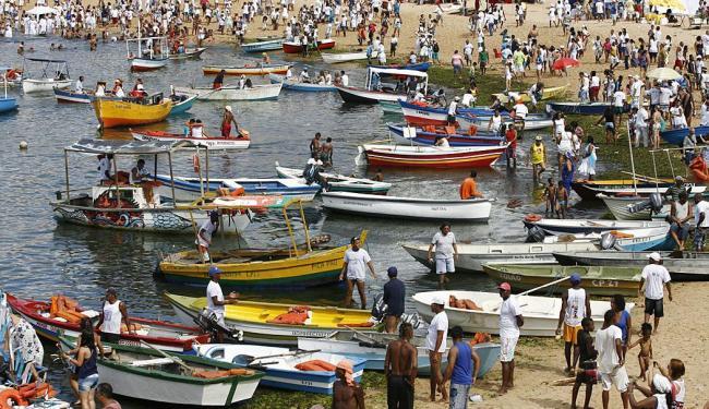 Festa de Iemanjá acontece nesta terça-feira, 2 - Foto: Marco Aurélio Martins | Ag. A TARDE
