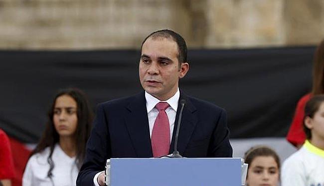 Jordaniano príncipe Ali é candidato à presidência da entidade - Foto: Muhammad Hamed | Agência Reuters