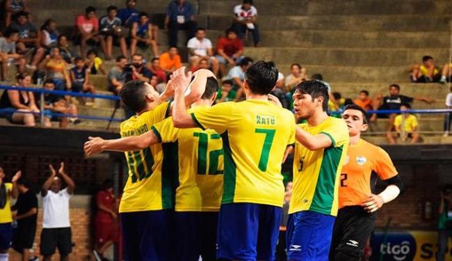 A equipe venceu o Uruguai por 4 a 1, em Assunção - Foto: Luis Domingues | CBFS | Divulgação