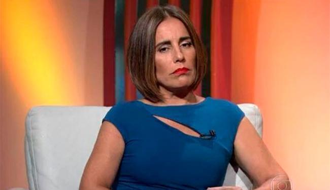 Glória garantiu que nao seria uma resposta e sim um esclarecimento ao público - Foto: Reprodução | TV Globo