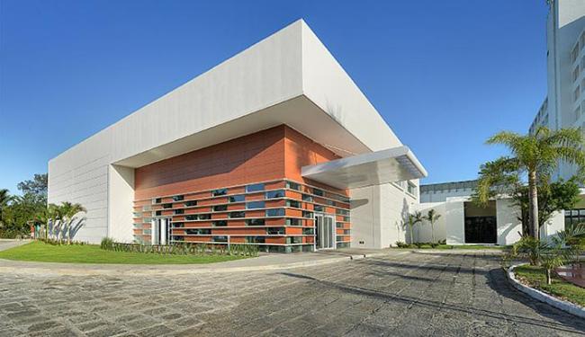 Estrutura, que contempla salas de eventos e espaço para confraternizações, atende até mil pessoas - Foto: Divulgação