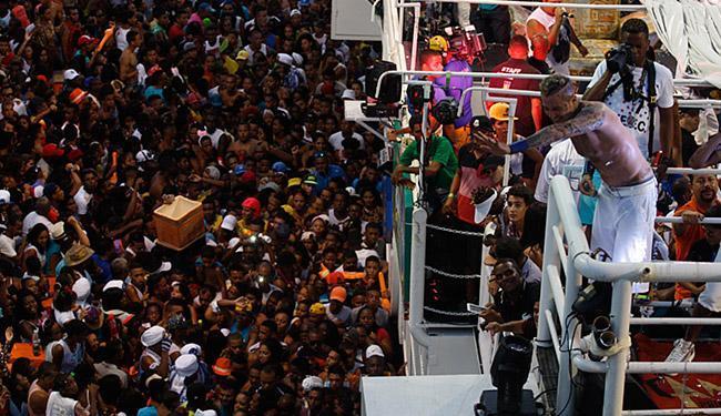Pelo segundo ano consecutivo, Igor Kannário arrastou multidão na pipoca - Foto: Lúcio Távora   Ag. A TARDE