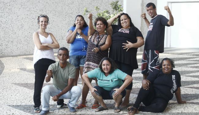 O grupo foi criado em 2010 e já apresentou três espetáculos - Foto: Ricardo Borges / Divulgação