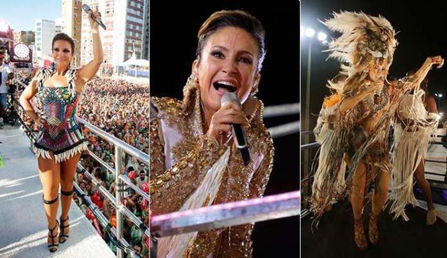 Ivete Sangalo, Claudia Leitte e Daniela Mercury se destacaram no penúltimo dia de Carnaval - Foto: Raul Spinassé   Ag. A TARDE