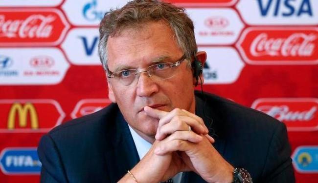 Valcke foi condenado por má conduta, destruição de provas e irregularidades na venda de espaço na TV - Foto: Maxim Zmeyev   Reuters