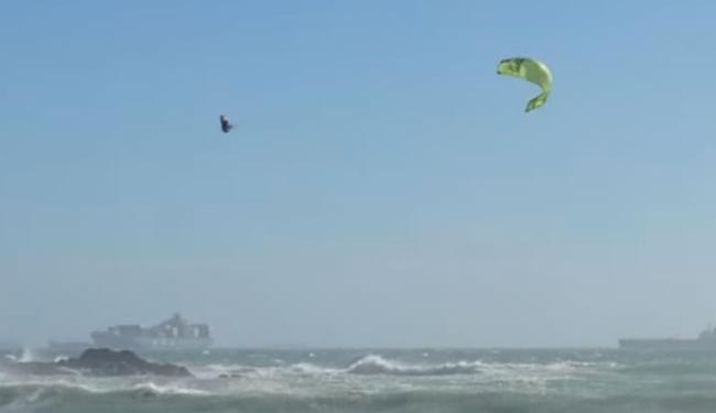 Atleta caiu de uma altura de 20 metros - Foto: Reprodução   Youtube