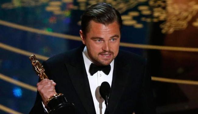 Leonardo DiCaprio levou para casa, pela primeira vez, o prêmio de melhor ator - Foto: Reuters