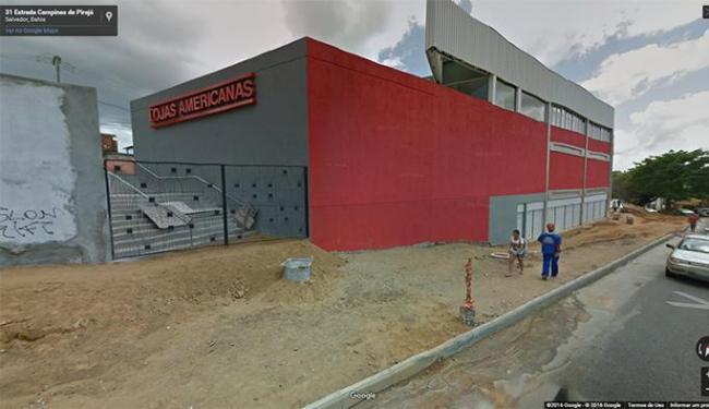 Segundo PM assalto foi nas Lojas Americanas de Pirajá - Foto: Reprodução / Google Maps