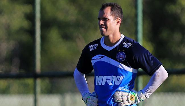 Apesar da boa atuação, Lomba acredita que ainda não está no seu melhor nível - Foto: Felipe Oliveira l EC Bahia