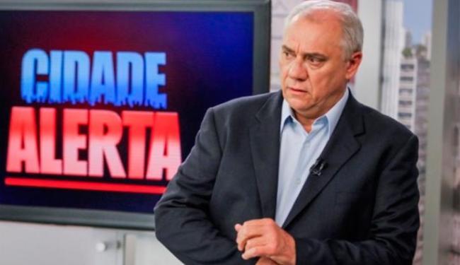 Marcelo Rezende reclamou de postagem de nudes durante programa - Foto: Reprodução