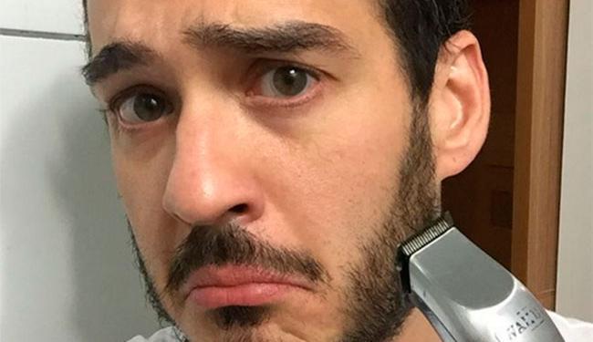 O ator enviou a imagem de um pênis para todos os seguidores - Foto: Reprodução | Instagram