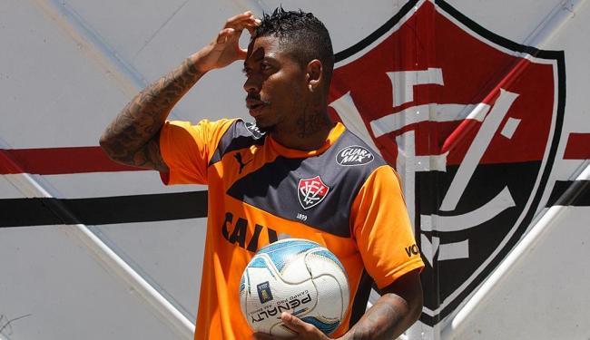Marinho sente dores no joelho direito - Foto: Lúcio Távora | Ag. A TARDE