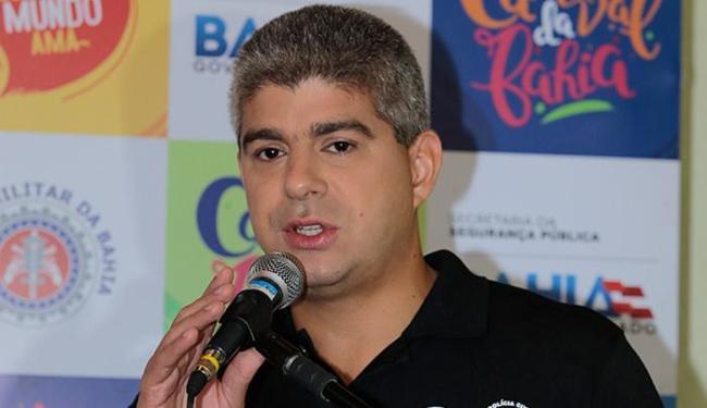 Maurício Barbosa, tit. da SSP-BA: 'Mais de 90% das pessoas aprovaram o desempenho da PM' - Foto: Lucas Melo l Ag. A TARDE