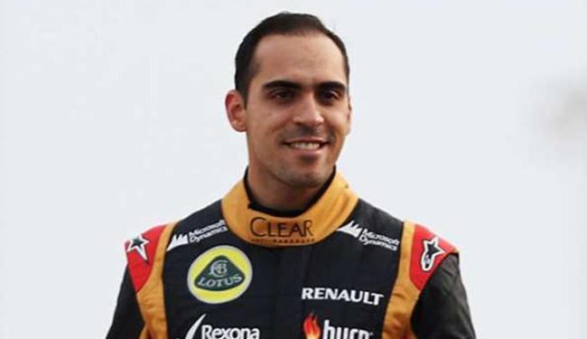 Em 2014, o piloto venezuelano estava na equipe Lotus - Foto: Divulgação