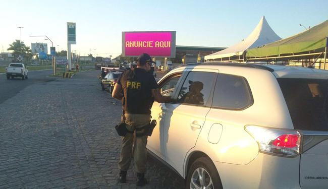 Além do patrulhamento ostensivo, a PRF fará ações educativas - Foto: Divulgação   Polícia Rodoviária Federal