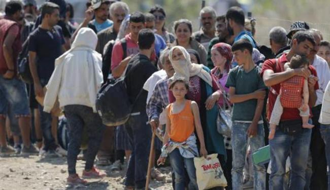 Refugiados - Foto: Valdrin Xhemaj/Agência Lusa