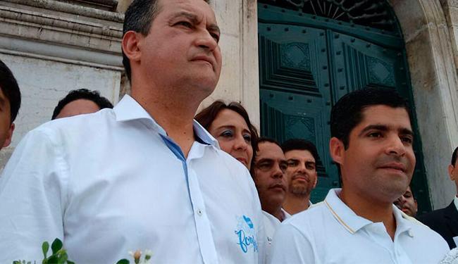 Rui e Neto não pretendem citar eleição em discursos de abertura da Assembleia e Câmara - Foto: Raul Spinassé | Ag. A TARDE