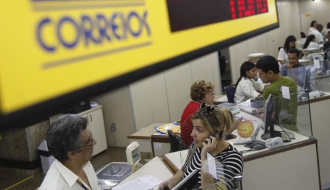 Equipamento de senha em Agência dos Correios - Foto: Lúcio Távora | Ag. A TARDE